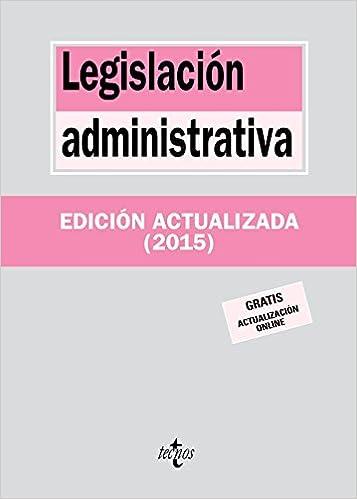 Book Legislación administrativa