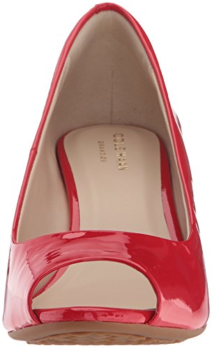 Haan Orange Pump Wedge Aura Womens 65MM Open Patent Cole Sadie Toe 7dwzwAq