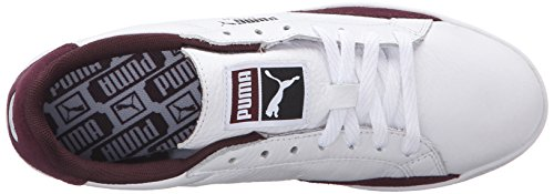 Puma Winetasting M Basic Lo Us 8 Sports Scarpe Tennis White Da Wn's Donna zqwq6Oa0