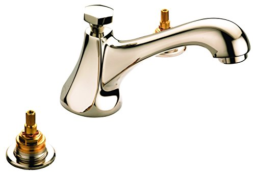 Luxart Polished Brass Widespread Faucet Widespread