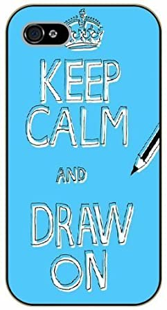 official photos 13c85 ecc10 For SamSung Galaxy S5 Mini Case Cover Keep calm and draw on, art ...