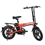 TrekPower Folding Electric Bike 250W Lightweight