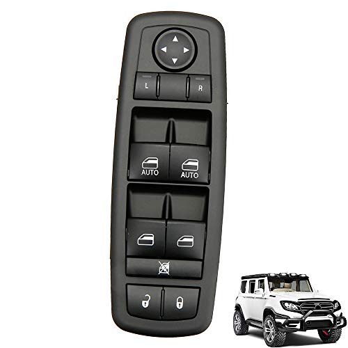 WarmCare Driver Side Master Power Window Switch for 2011-2017 Dodge Charger Chrysler 68231805AA