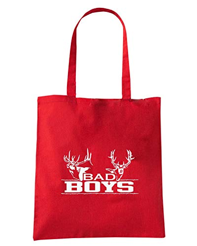 Speed Shopper Borsa Shirt BOYS BAD FUN0411 HUNTING Rossa rqErwZ