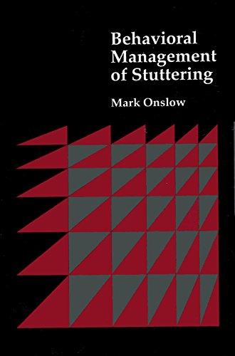 Behavioral Management Of Stuttering