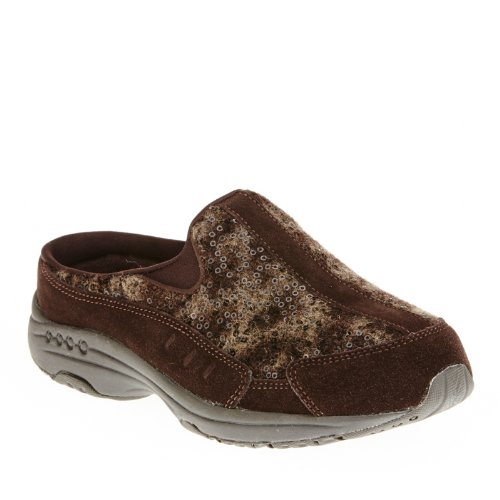 Easy Spirit Travelwool Womens Slip On Sneaker Clogs Dark Brown heFbZ