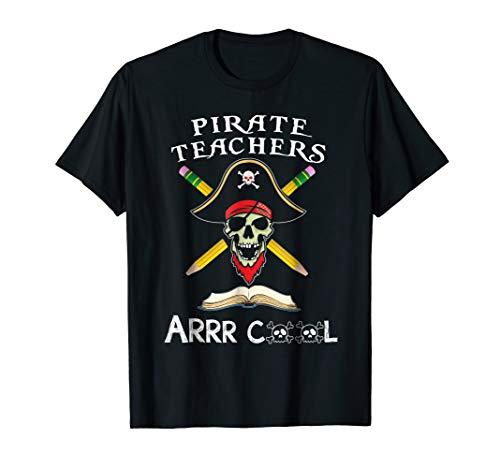 Funny Teacher Shirt Pirate Teacher Gift Talk Like a Pirate