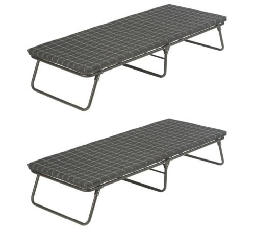 Coleman (2) Portable ComfortSmart Steel Frame Deluxe Camping Cots | 30