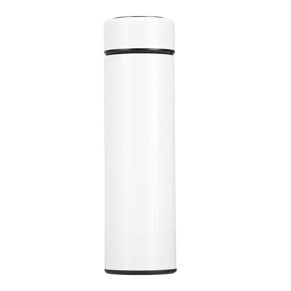 RUIMING Smart Water Bottle with LCD Touch Screen Stainless Steel Travel Mug Water Cup Vacuum Sports Hand Flask Touch Display