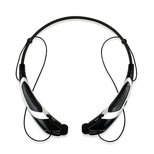GEARONIC TM Bluetooth Headphone BlackSilver