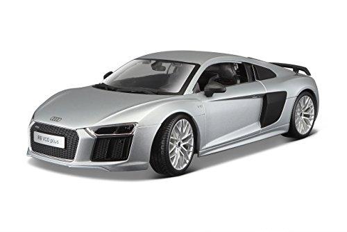 Audi R8 V10 Plus Silver 1/18 by Maisto (Plus Scale)