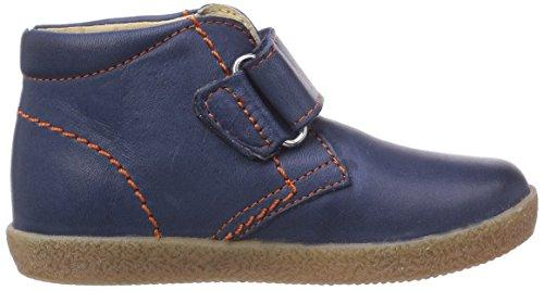 Naturino FALCOTTO 246 - zapatillas de running de cuero bebé multicolor - Mehrfarbig (NAVY CUC. OCRA)