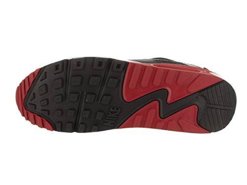 NIKE Max 90 Air Red Gym Black Essential Black running Chaussures Noir de White homme r5Urwx