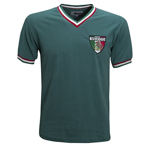Retro 1970 Jersey (Retro League Mexico 1970 Shirt (X-Large))