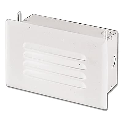 HALO H2920ICT, Step Light, IC, Incandescent, with Louver Face Plate, No Junction Box Or Bar Hangers - Outdoor Step Lights - .com