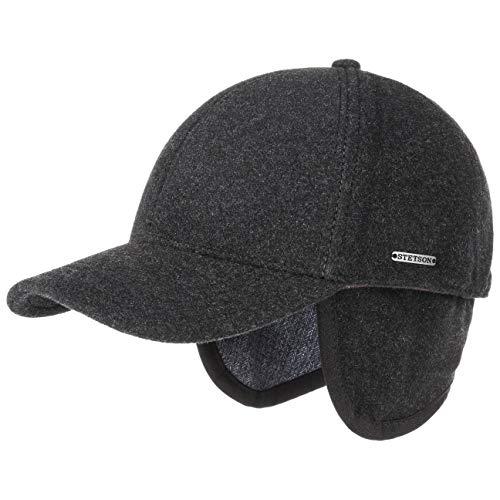 Stetson Wool/Cashmere Baseball Cap (Grey, - Cap Cashmere Baseball