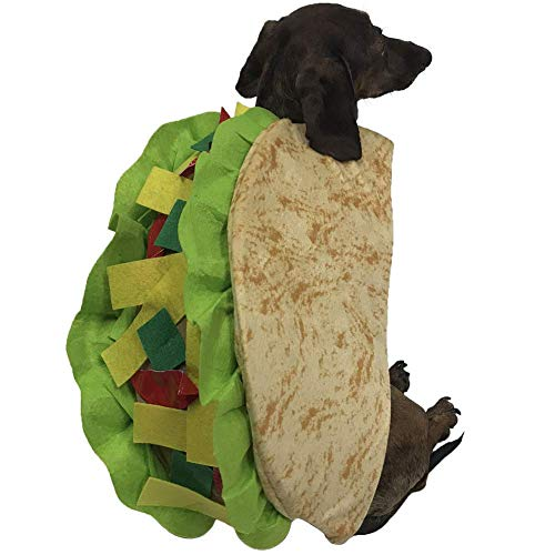 Best Music Posters Taco Costume for Small Pets (Small)]()