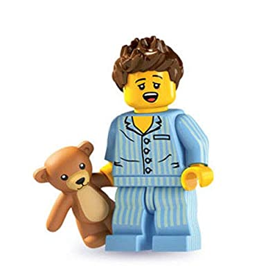 LEGO 8827 Minifigures Series 6 - Minifigure Sleepyhead (Sleepy Head) x1 Loose: Toys & Games