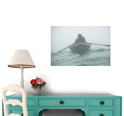 National Geographic - Jigging for Cod the Old Way Peel and Stick Wall Decal by Wallmonkeys