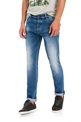 Carrot Slim Slender Salsa Azul Pantalones tqw0HOF