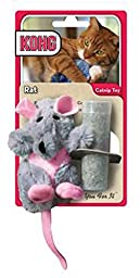 KONG Rat Refillable Catnip Toy (Colors Vary)