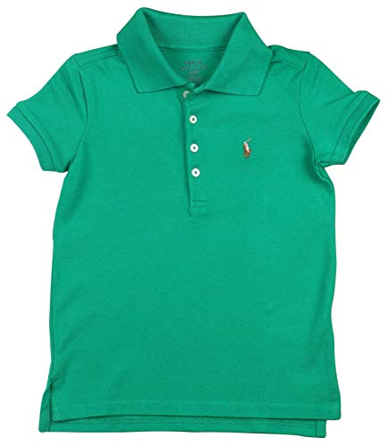 - Polo Ralph Lauren Big Girls' (8-20) Pony Polo Shirt-Green-XL (16)