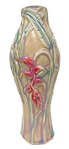 David Changar Heliconia Vase, Pink Celadon