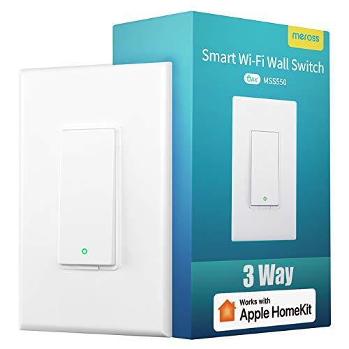 3 Way Smart Switch, meross Smart Light Switch