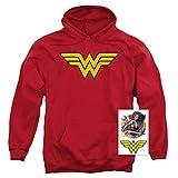 Popfunk Wonder Woman Logo Pullover Hoodie
