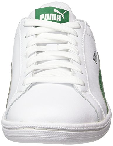 Leather Eu verdant Blanc Mixte Baskets Puma Basses White Adulte Green Smash 43 white qfPpx8x15w