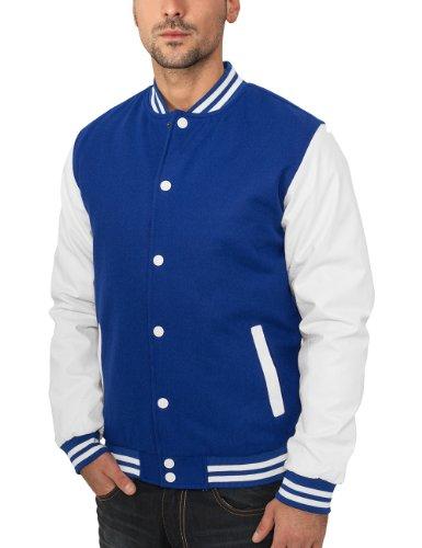 Blouson Homme Oldschool Bekleidung Blue College Jacket Classics Urban wT6nXxAq
