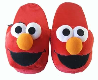 Sesame Street Elmo Slippers - Comfy House Slippers