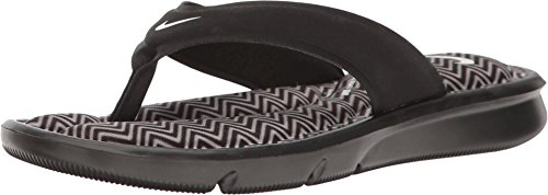 - Nike Women's Ultra Comfort Thong Print Black/White 8