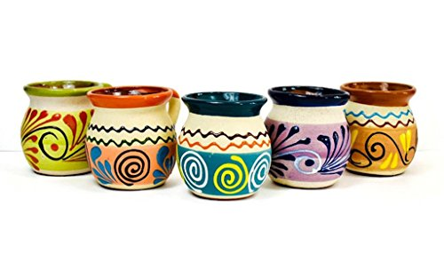 Mexican Clay - Mugs (sets of 5)