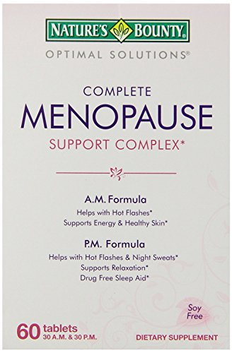 Natures Bounty Menopause Support Complex