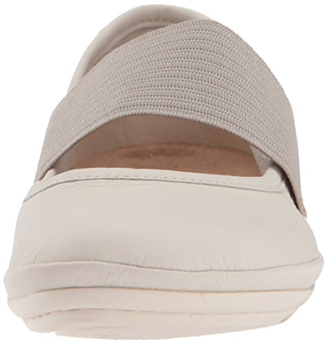 Camper Womens Destra Nina 21595 Mary Jane Beige Piatta