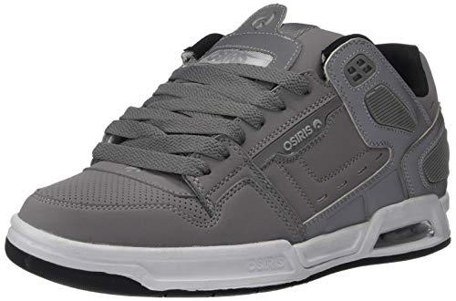 - Osiris Men's Peril Skate Shoe Grey/Silver/Black 10.5 M US