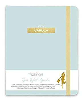 Grupo Erik - Agenda Carola Premium 16 meses 2018/2019 Semana Vista