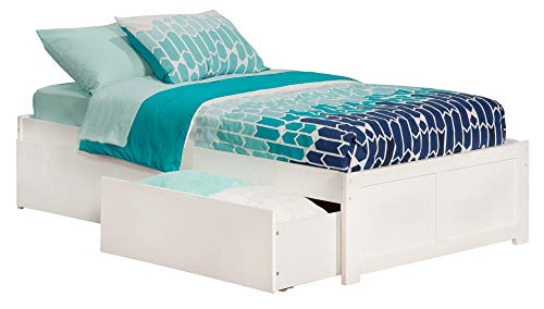 Atlantic Furniture Concord Twin XL FP Footboard With Underbe