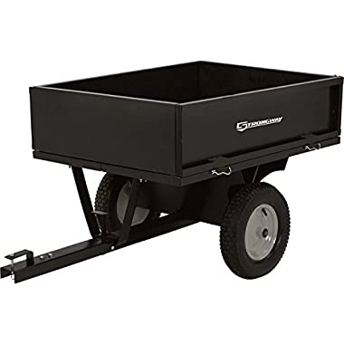 Strongway Steel Dump Cart - 500-Lb. Capacity, 10 Cu. Ft.