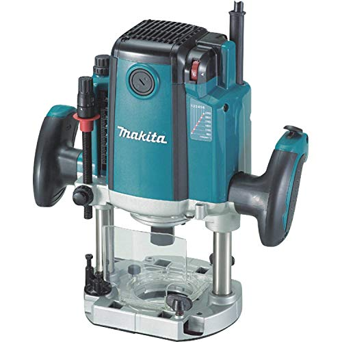 - Plunge Router Electric Brake, 3-1/4 HP