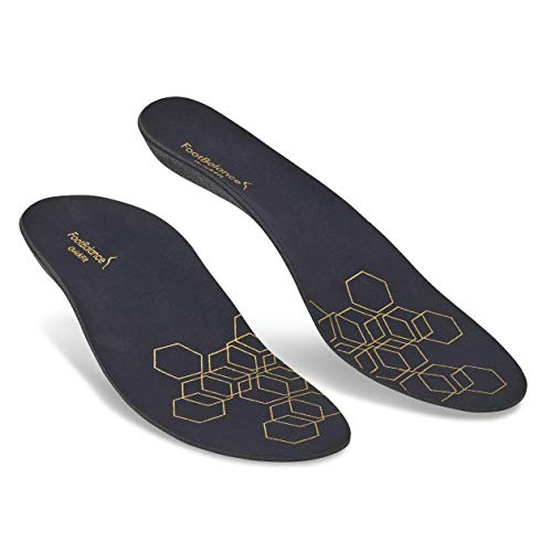 (FootBalance QuickFit Casual Insole | Men's & Women's Orthotic Inserts | Custom Heat Moldable for Foot Alignment and Arch Support)
