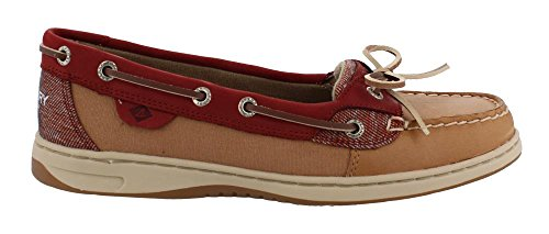 Sperry Top-sider Anges Pour Femmes 2-eye Avoine Slip-on Mocassin Palissandre / Sahara