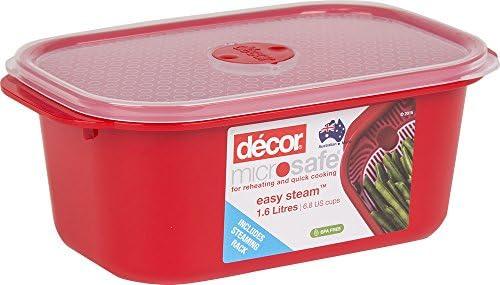 Décor - Recipiente rectangular para horno microondas y microondas ...