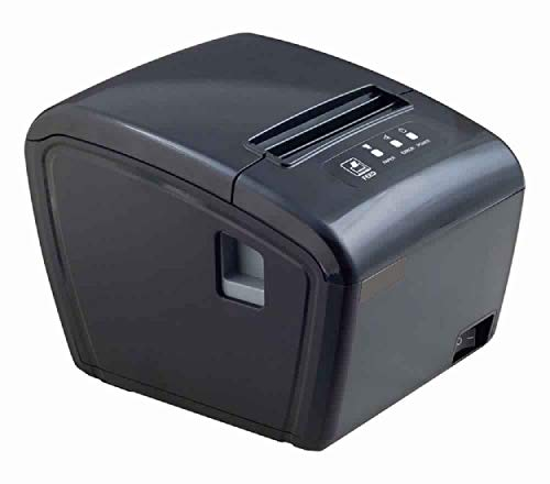 SE-T350 Thermal Receipt Printer 80mm(3inch) Speed 300mm/sec LAN USB Auto Cutter Paper (Black) BIS Approved for POS