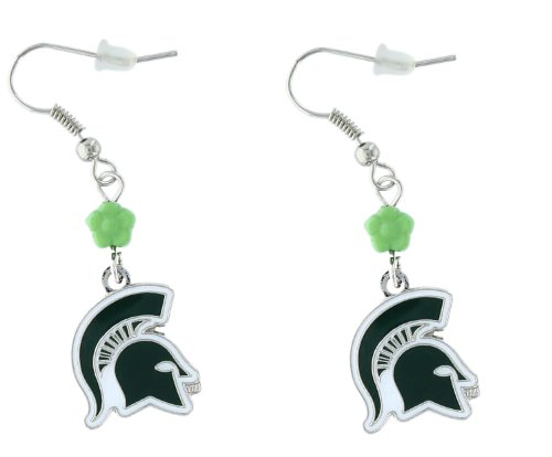 NCAA Michigan State Spartans Sophie Beaded Earrings
