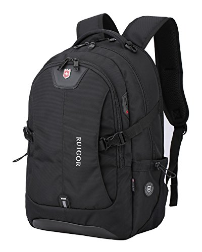 Swiss Ruigor 6147 Water Resistant Backpack Fit For 15.6