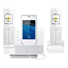 Panasonic KX-PRD262W Link2Cell Dock Style, Bluetooth, 2HS, Wh