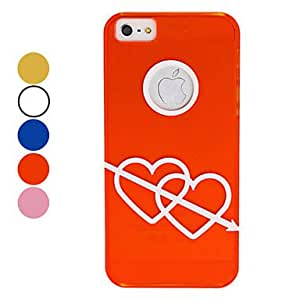Telesthesia Pattern Hard Case for iPhone 5/5S (Assorted Colors) --- COLOR:Pink