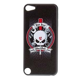 compra Brillante cráneo fresco con Word caso duro del patrón chino para iPod touch 5